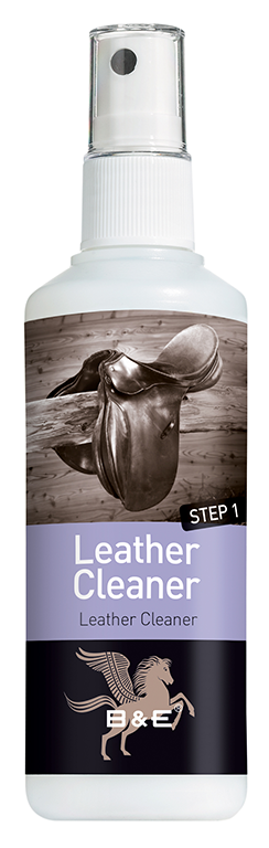 B&E Leather Cleaner - Step 1